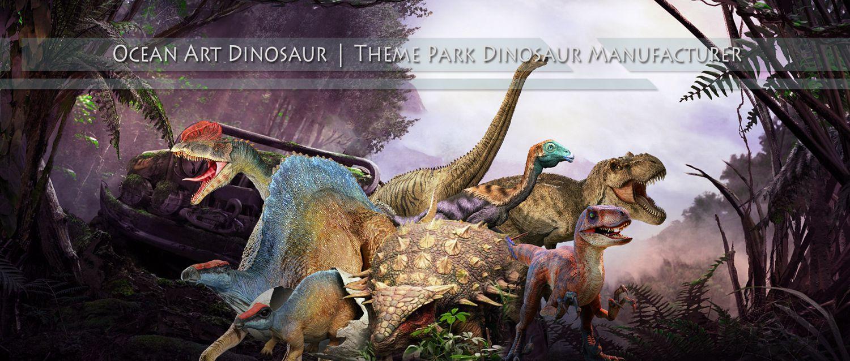 ocean art dinosaurs