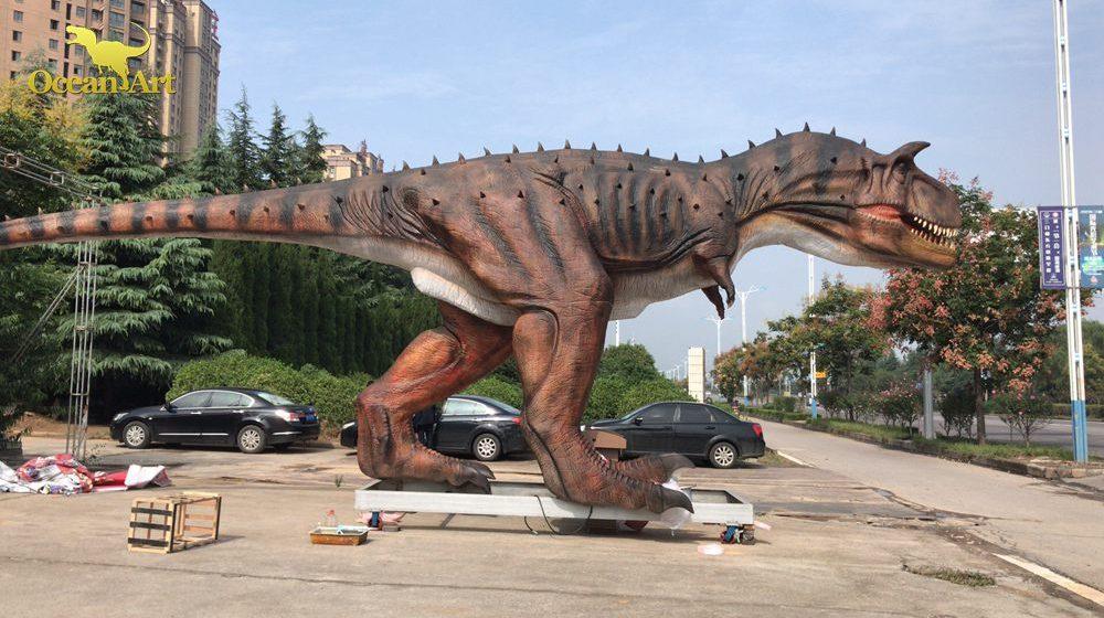 Animatronic Carnotaurus Case