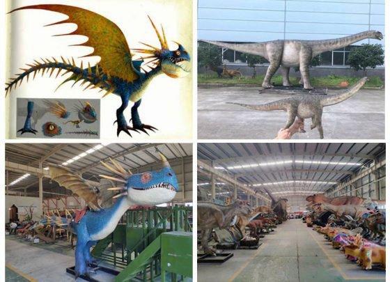 Ocean Art dinosaur Manufacturer